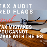 EP 64 | Profit Boss Radio | Tax Audit Red Flags & Tax Mistakes You CANNOT Make with the IRS